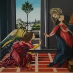 Annonciation cestello Botticelli tempera