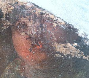Lacunes conservation restauration tableau