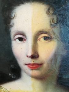 conservation restauration tableaux Saconay