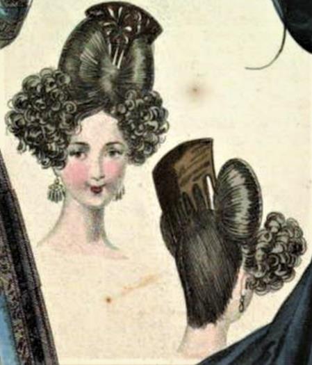 Girafomania coiffure mode 1830
